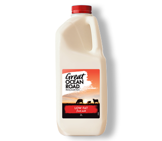 Great Ocean Road Dairy Low Fat Milk